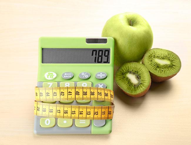 Посчитать сколько калорий надо